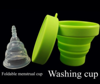 Foldable Menstrual Cup